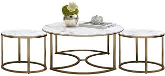 Contemporary <b>3</b>-<b>Piece Coffee</b> Table Set - Includes Cocktail Table ...