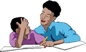 Homework Angelfire This is an image of an mother giving Homeowrk Help to her son from microsoft clipart