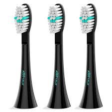 AMYTALK <b>3 Pcs</b> Sonic <b>Electric Toothbrush Replacement Heads</b> ...