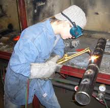 while gas welding is used more often for art pieces than in manufacturing or construction oxy fuel cutting is still very common and a must learn skill for description of a welder