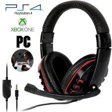 <b>Проводной игровой гарнитура</b> наушников для PS4 Xbox один ...
