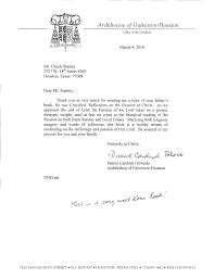 he was crucified letter of endorsement by cardinal dinardo galveston houston
