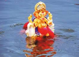 Image result for Ganpati visarjan