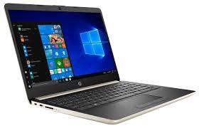 Купить <b>Ноутбук HP 14-dk0038ur</b> (153D8EA), бледно-золотистый ...