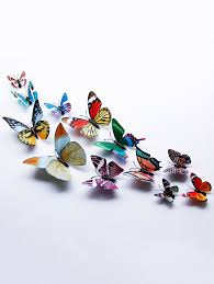 <b>3D Luminous</b> Single Wing Butterfly Wall Stickers | Stuff to buy in ...