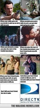 Switch to Direct TV - The Walking Memes via Relatably.com