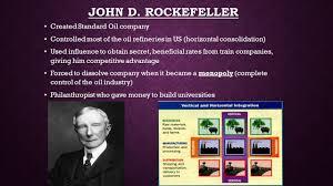 unit gilded age part industrialization great entrepreneurs 14 john d rockefeller