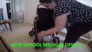 <b>New Folding Electric</b> Wheelchair