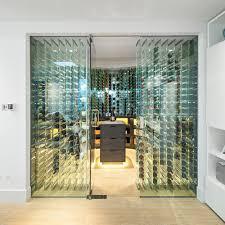 glass wine cellar home design photos chic minimalist wine cellar design decorated