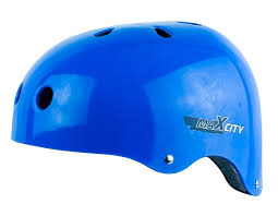 Роликовый <b>шлем MaxCity ROLLER</b> STRIKE Голубой <b>S</b>: купить за ...