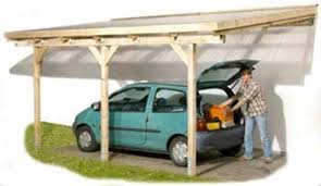 DIY Attached CarportAttached timber carport