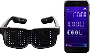 CHEMION - Customizable Bluetooth LED Glasses for ... - Amazon.com