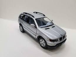 """5"""" <b>Kinsmart BMW X5</b> SUV Diecast Model Toy Car 1:36 Pull Action ..."""
