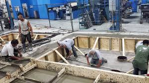 machine base contruction universal concrete services concrete machine base machine foundation construction