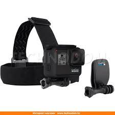 <b>Крепление GoPro Head Strap</b> + <b>QuickClip</b> Support system (ACHOM ...