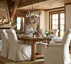 barn art deco dining room