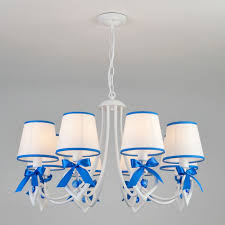 Подвесной светильник <b>Eurosvet</b> Terry <b>60066/8 белый</b>/<b>синий</b> ...
