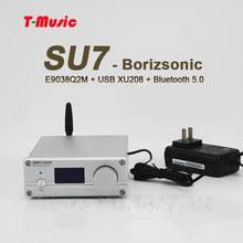 2019 new finished su7 es9038 audio decoder bluetooth 5 0 dac hifi sa9023 usb coaxial fiber