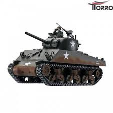 <b>Радиоуправляемый танк Torro Sherman</b> M4A3 RTR масштаб 1:16 ...