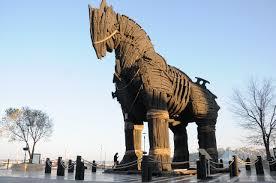 Hasil gambar untuk gambar kuda troya