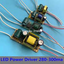 <b>3PCS</b> Constant Current <b>LED Driver</b> Lamp Power Supply 280mA ...