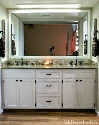 making bathroom cabinets: diy double bathroom vanity img  edited diy double bathroom vanity