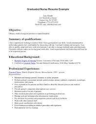sample resume registered nurse med surg cipanewsletter cover letter graduate nurse sample resume graduate nurse resume