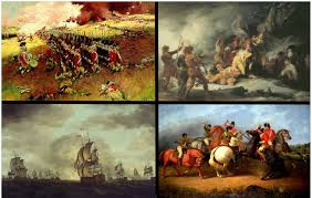 clockwise from top left battle of bunker hill death of clockwise from top left battle of bunker hill death of montgomery at quebec battle of cowpens moonlight battle revolutions