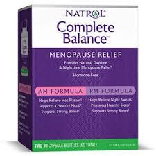 Complete Balance menopause relief Natrol 60 капс — купить в ...