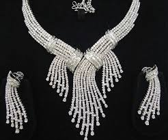 Image result for bridal jewellery diamonds