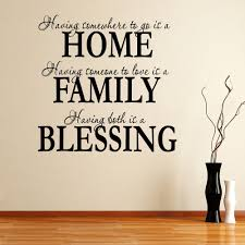 wall decal family art bedroom decor wall decor free shipping wall sticker new home decor wall quote removable decals home family blessing xcm