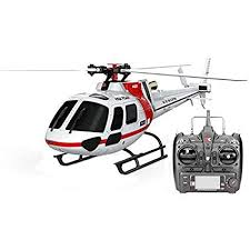 XK K123 6CH Brushless AS350 Scale RC Helicopter ... - Amazon.com