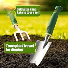 Delxo Gardening Tools Set,<b>9 Piece Garden</b>- Buy Online in ...