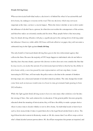 drink driving essays a child called it by dave pelzer example of a speech outline in apa format