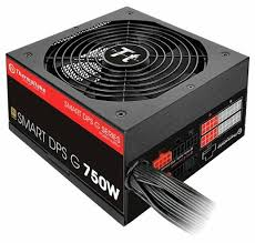 <b>Блок питания</b> Thermaltake Smart DPS G Gold <b>750W</b> — купить по ...