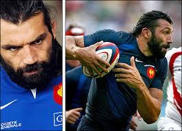 France forward Sebastien Chabal. Height: 1.91m (6ft 3in) Weight: 115kg (18st) Age: 29 Caps: 30 - _44078163_sebastien_chabal_416