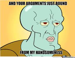 Handsome Squidward by bbq - Meme Center via Relatably.com