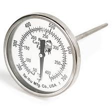 <b>Термометр штатный</b>, <b>круглый</b>, <b>шкала</b> +50/+400С, D51мм, Big ...