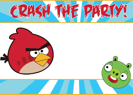 birthday party invitation templates ideas printable angry birds party invitations