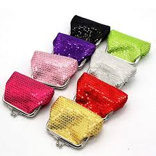 8 Pcs <b>Sparkly Bling</b> Coin Purses <b>Sequin For</b> Girl, Diva Party Favors ...
