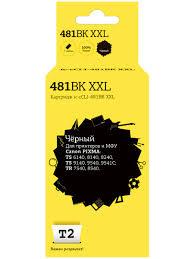 <b>Картридж T2 IC</b>-<b>CCLI</b>-481BK XXL для Canon Pixma (CLI-481BK ...