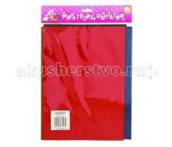 <b>Fancy Creative Набор</b> цветной бархатной бумаги A4 5 л ...