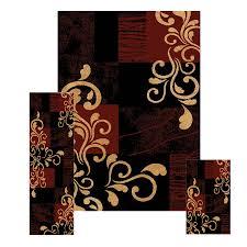 font brown rug