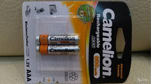 <b>Аккумулятор AAA Camelion</b> 800 mAh 1.2V купить в Москве ...