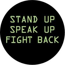 Image result for stand up and fight woman