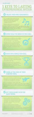 17 best ideas about strategic leadership leadership 5 keys to lasting entrepreneurial success infographic