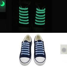 <b>12 Pcs/Set Luminous</b> silicone shoelaces Flash Party Glowing Shoes ...