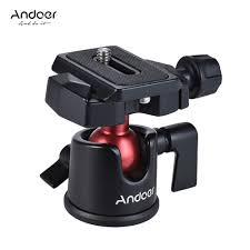 Andoer <b>Mini Ball Head Ballhead</b> Tabletop Tripod <b>Stand</b> Adapter w ...