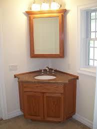 corner bathroom sink cabinets mirror light