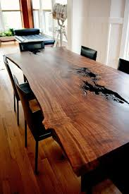 dining table woodworkers: modern live edge claro walnut slab dining taylordonskerdesign live